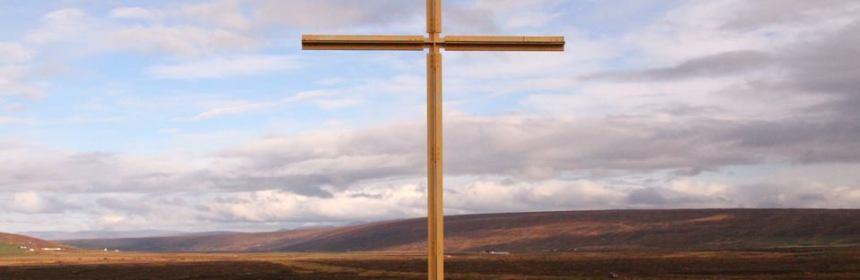 Krossinn við Þorgeirskirkju við Ljósavatn