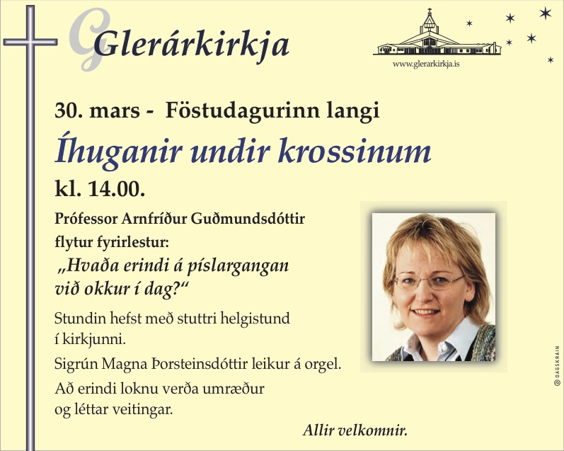 glerarkirkja_Ihuganir_undir_krossinum