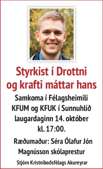 Olafur Jon skolaprestur