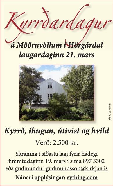 kyrrdardagur_20200321